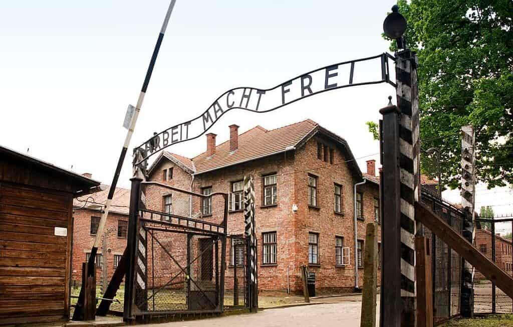 Auschwitz-Birkenau concentration and extermination camp