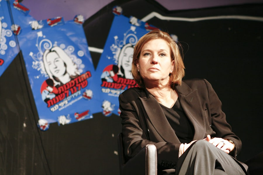 """ציפי לבני, יו""""ר מפלגת קדימה, 2009"""
