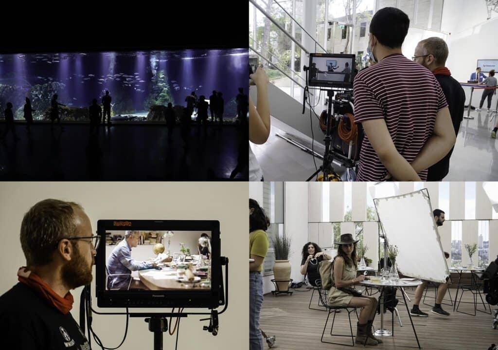 מאחורי הקלעים של סרטון התדמית, מכון ון ליר