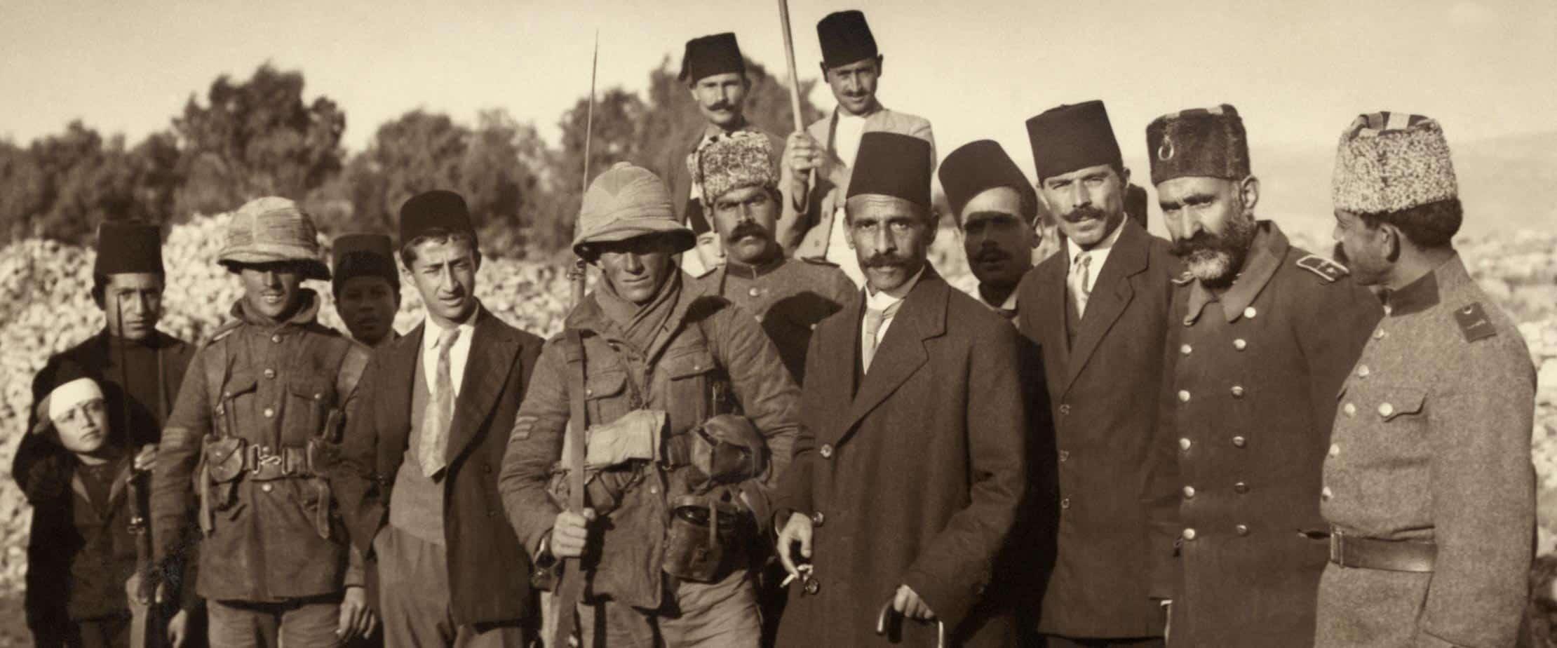 מקוון   ארץ ישראל-פלסטין במעבר בין אימפריות